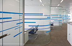 Be on-trend in 2018 with glass partitions