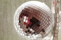 It's not just for glitter balls: mirror glass for your home and office